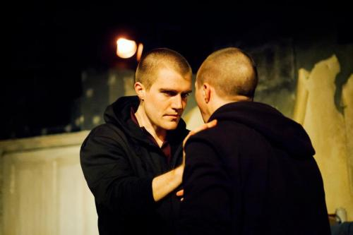 Elliot (Ciarán Owens) and Darren (Frank C Keogh)
