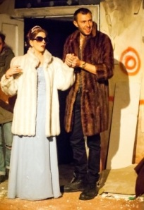 Spinx (Benjamin Dilloway) and Duchess (Katie Scarfe)